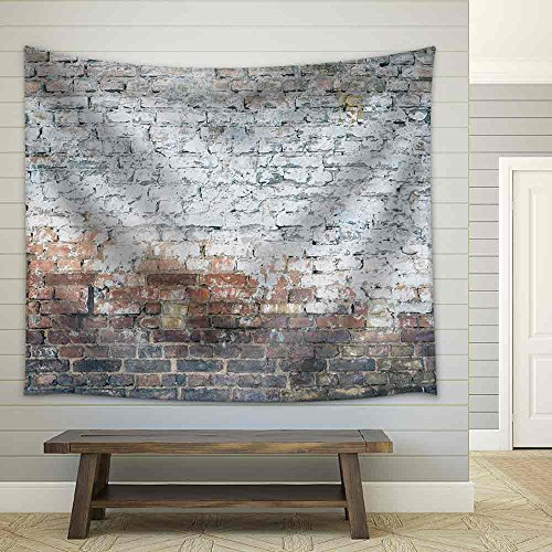Aged Street Wall Background Fabric Wall