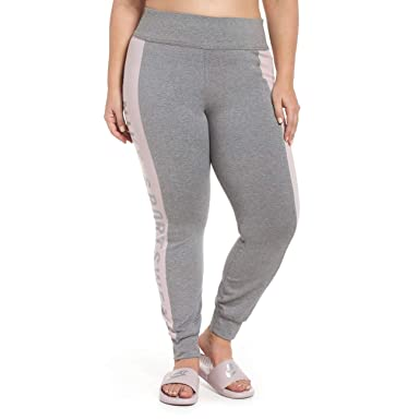 6936cbddfbc1b9 Image Unavailable. Image not available for. Color: Nike Womens Plus  Colorblock Logo Athletic Leggings ...