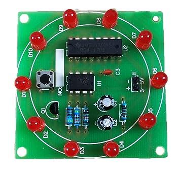 Pinzhi LED electrónico Lucky Tocadiscos Kit (1pcs) 1pc: Amazon.es ...