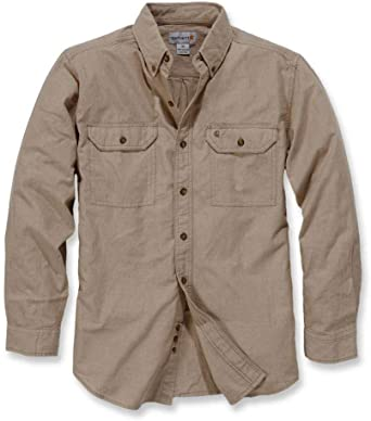 Carhartt S202 L/S Fort Solid - Camisa de trabajo