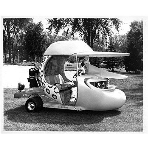 Bob Hope golf cart 8 x 10 Inch Photo