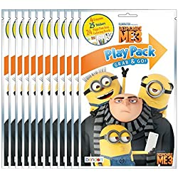 Bundle of 12 Illuminations Despicable Me 3 Grab and Go Play Packs