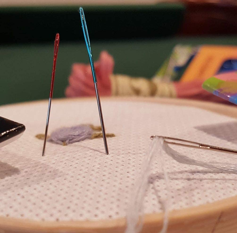 Pony Size 24 Tapestry Colour-Coded Eye Needles