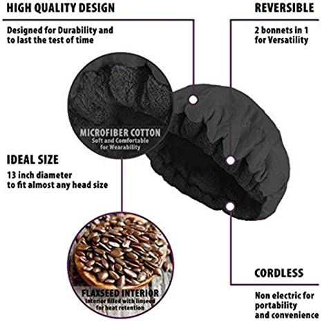 Libertry Deep Conditioning Heat Cap Microwavable Heat Cap Para ...