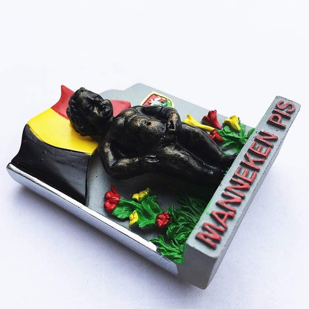 D/écoration de Maison ou de Cuisine Souvenir de Voyage MUYU Magnet Aimant de r/éfrig/érateur Manneken Pis Brussels