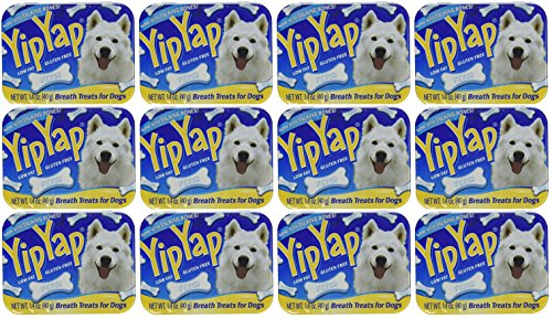 12 Pack Yip Yap Breath Freshener For Dogs 1.4 Ounces Each