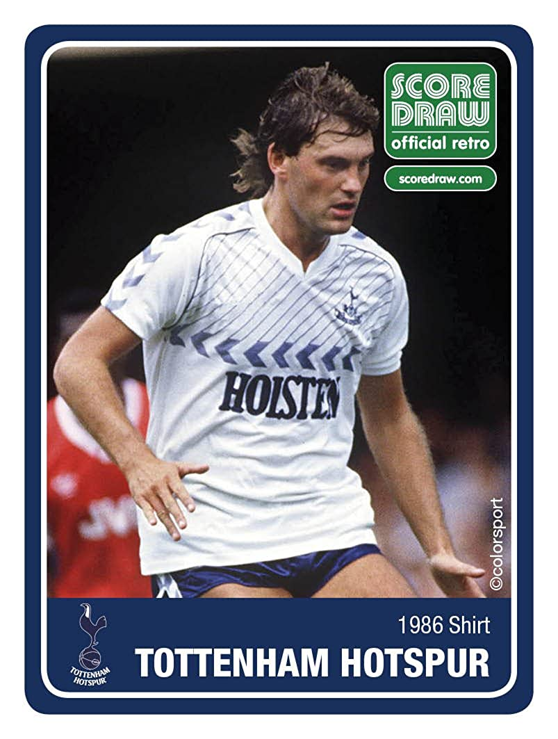 premium selection 18140 18d41 Tottenham Hotspur 1986 Short Sleeve Shirt