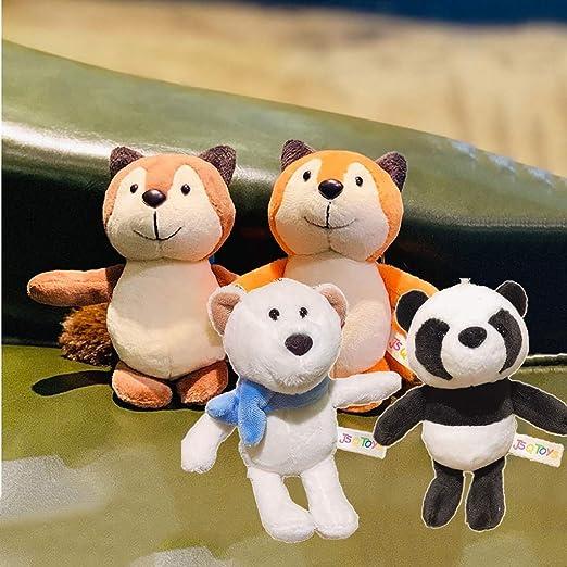 Peluches 4 Pack Mini Animal de peluche de juguete, Juguete de ...