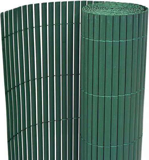 mewmewcat Valla de jardín de Doble Cara PVC Verde 150x300 cm: Amazon.es: Hogar