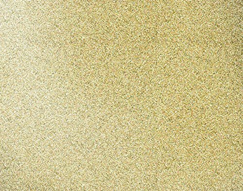 American Crafts We R Memory Keepers Gold Glitter Designer Poster Board