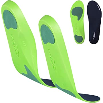 ViveSole Plantar Fasciitis Insoles - Foot Arch Orthotic Shoe Inserts