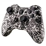 Mod Freakz Shell/button Kit Hydro Dipped Collection Grave White Skull (NOT A CONTROLLER, For Xbox 360 Controllers)