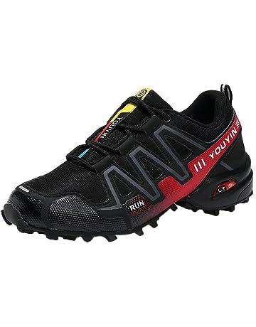 47595a59463574 zycShang Chaussures Baskets Basses Homme De Running Marche Filets Course  Sneakers Sport Respirantes Athlétiqu Casual à