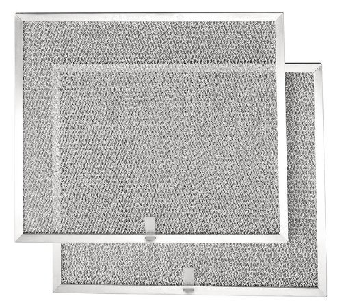Broan BPS1FA36 Replacement Filters for QS1 and WS1 Range Hoods, 36-Inch, Aluminum, by Broan