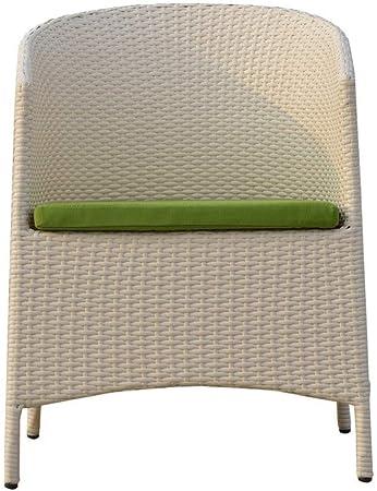 QQXX Silla de ratán para jardín al Aire Libre, Interior y Exterior, balcónLeisureSilla de Mimbre, Muebles de ratán, Adecuada para Sala de Estar: Amazon.es: Hogar