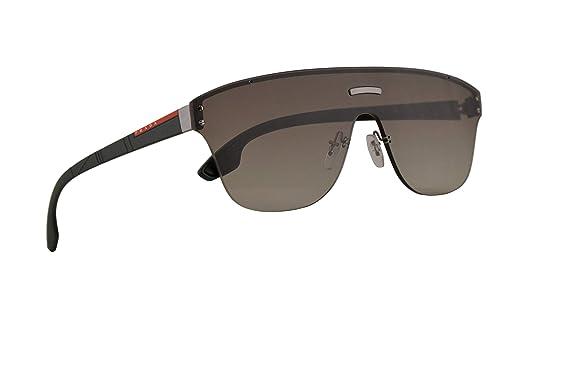 Amazon.com: Prada PS57TS - Gafas de sol de metal con lente ...