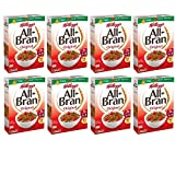 All-Bran Cereal, Original, 18.3-Ounce Boxes (Pack of 8)