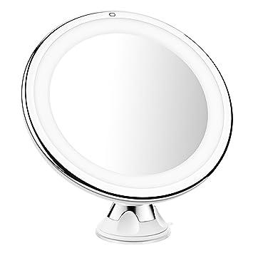 Lighted Magnifying Makeup Mirror 15x.Amazon Com Mpow 15x Lighted Magnifying Makeup Mirror 15