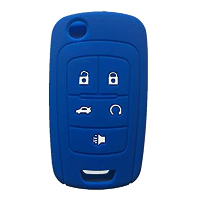 Rpkey Silicone Keyless Entry Remote Control Key Fob Cover Case protector For Buick Encore LaCrosse Regal Verano OHT01060512 5461A-01060512: Automotive