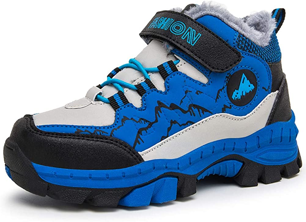 Z.SUO Kids Hiking Boots Boys Snow Boots