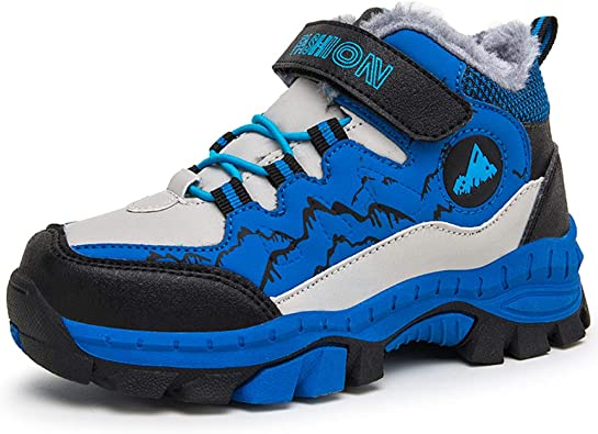 Boys Hiking Shoes Kids Walking Winter