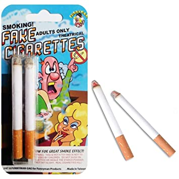 Theatrical Smoking Fake Cigarettes (Adults ONLY): Amazon co