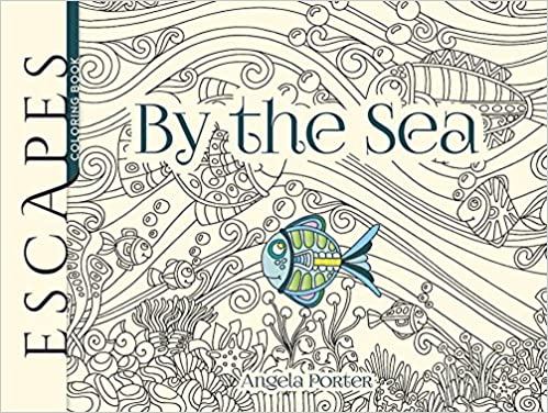 amazoncom escapes by the sea adult coloring 9780486814537 dr angela porter books - Dr Who Coloring Book