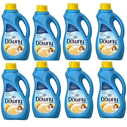 Downy Ultra Fabric Softener, Sun Blossom, 60 Loads, 51 oz (8 pack) by by Downy