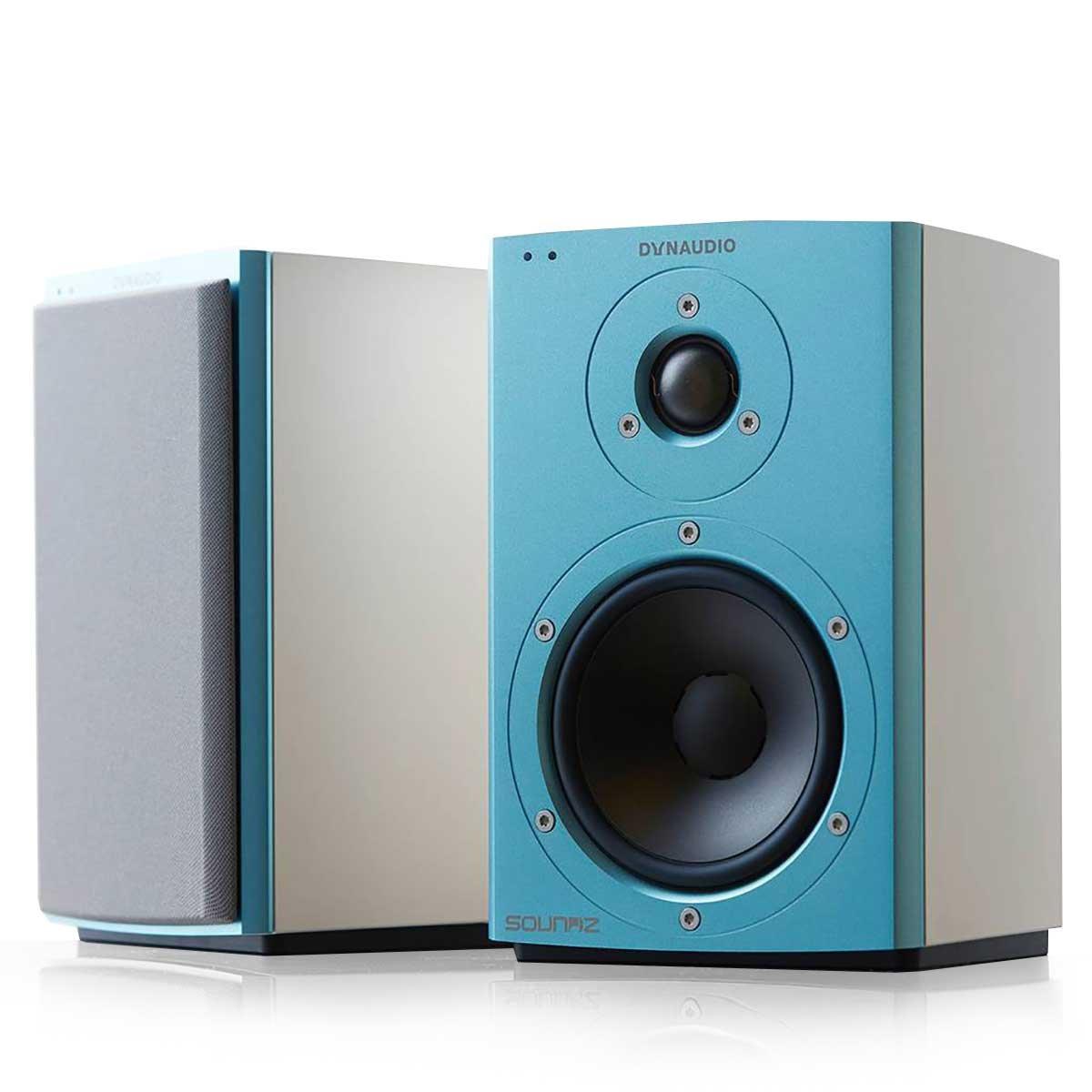 Dynaudio Xeo 2 Wireless Bookshelf Speakers, Limited Edition - Pair (Blue/White)