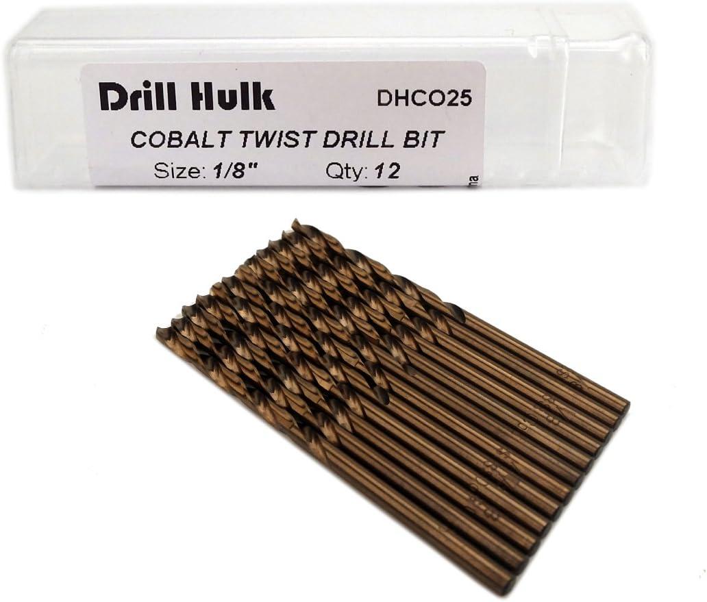 List Number 157-48509 Pack of 20 High Speed Steel Chicago-Latrobe Screw Machine Drill Bit Size 9//64 Bright