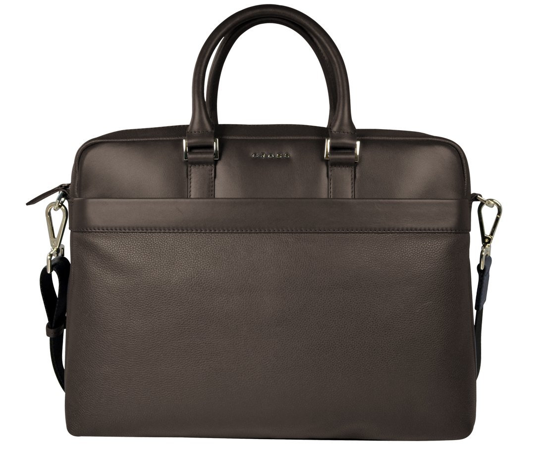 Cross Oak Brown Softsided Briefcase (AC941264_1-3)