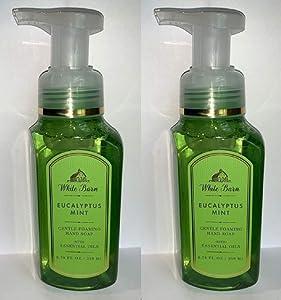 White Barn EUCALYPTUS MINT Gentle Foaming Hand Soap (2 Pack)