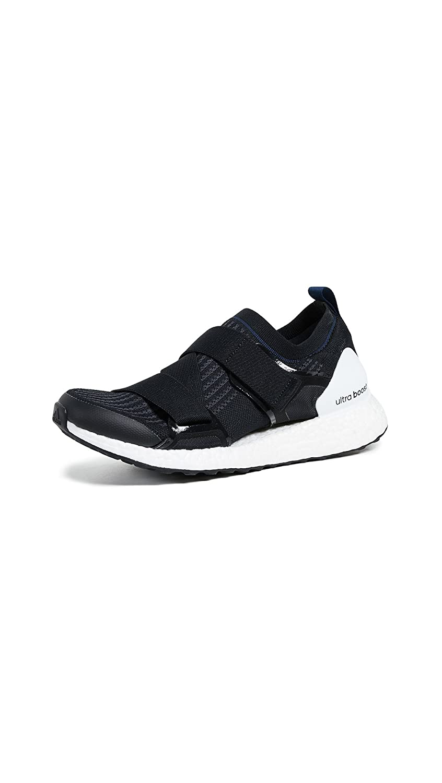 Image of adidas by Stella McCartney Women's Ultraboost X Sneakers, Black/Grey/Collegiate Navy, 3.5 M UK Tennis & Racquet Sports
