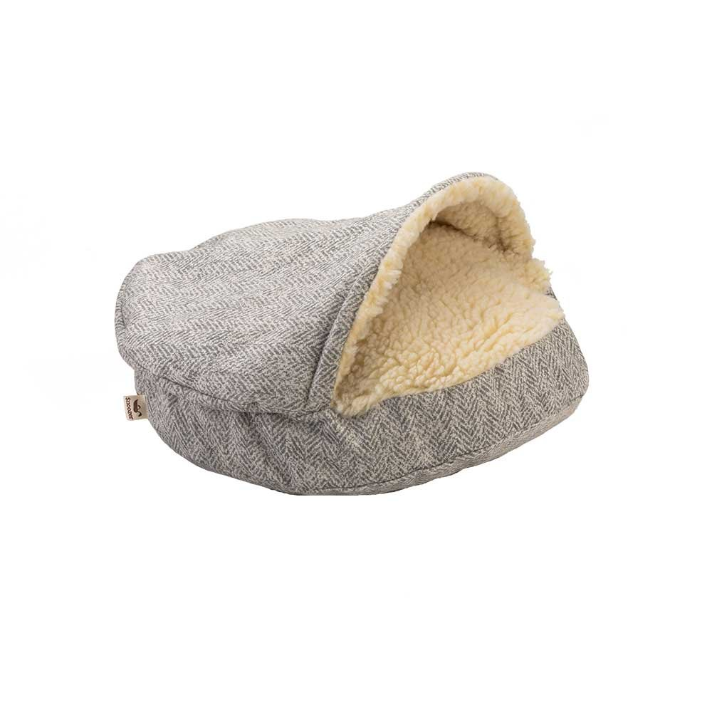 Snoozer Pet Products - Luxury Cozy Cave Dog Bed - Show Dog Collection | Small - Palmer Dove by Snoozer