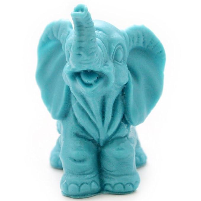 grainrain elefante Craft arte silicona jabón molde Craft moldes DIY moldes de jabón hecho a mano: Amazon.es: Juguetes y juegos