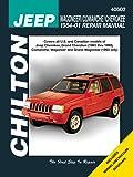 Jeep Wagoneer/Comanche/Cherokee 1984-01 Repair Manual