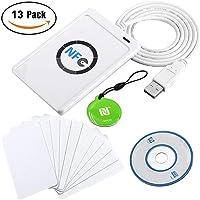Luxtech NFC ACR122U Lecteur Contactless Reader and Writer Smart & writer USB + SDK + Papier de RF