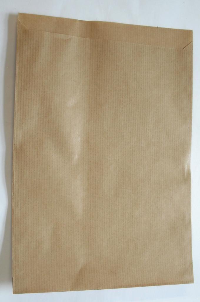 Papiertüten braun flach 17,5x23cm (1000St.)