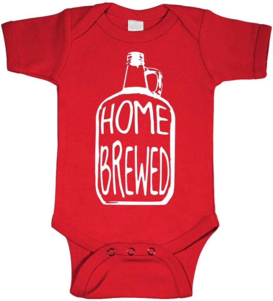 Home Brewed - Wine Beer Brew Craft - Baby Bodysuit