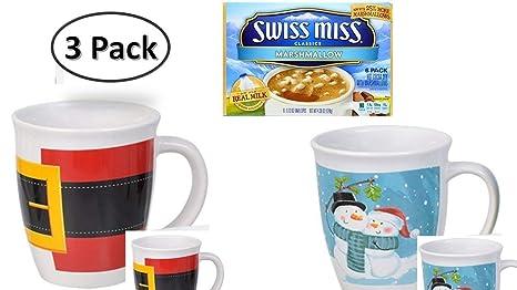 7ae9864c29b Amazon.com: Christmas Mugs - Stoneware Mugs - Perfect For Office ...