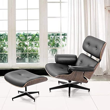 Magnificent Amazon Com Holarose Lounge Recliner Chair And Ottoman Mid Caraccident5 Cool Chair Designs And Ideas Caraccident5Info