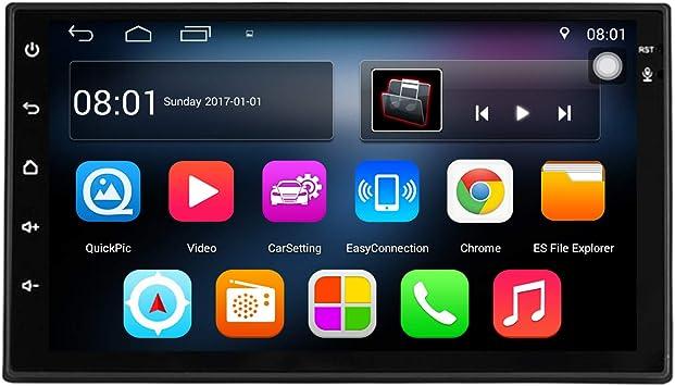 KKXXX S6 Android 9.0 2 DIN Autoradio Am FM RDS 1GB RAM 16GB ROM ...