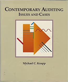 michael knapp auditing cases Contemporary auditing contemporary auditing: real issues and cases michael c , knapp's auditing cases, 9e, international edition uses real world cases to acquaint you with the work.