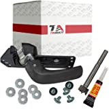 2007-2014 Chevy Silverado and GMC Sierra Replacement Interior Door Handle Kit For Front Left Side Inside Driver Door in OEM Textured Black Finish T1A 20833606