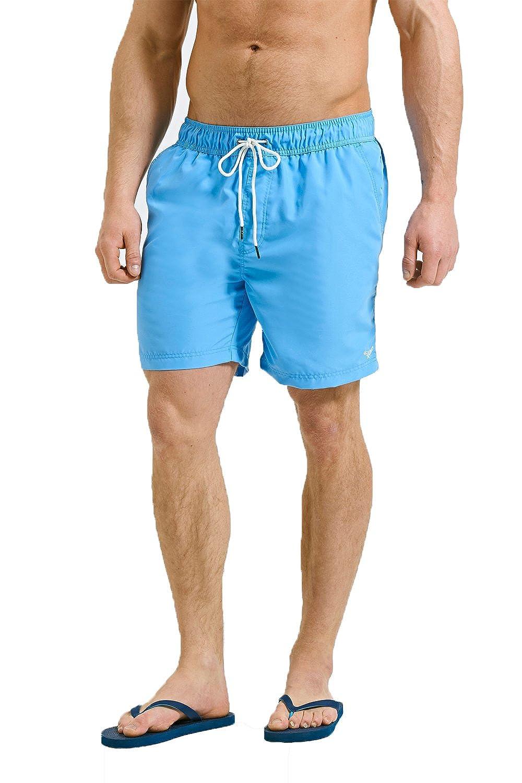 Threadbare Mens Marina Board Shorts Lined Swim Trunks