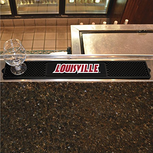 - FANMATS NCAA University of Louisville Cardinals Vinyl Drink Mat