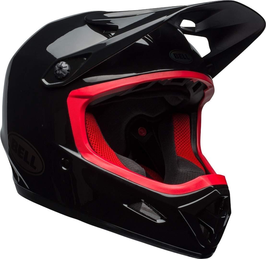 BELL Transfer-9 - Casco de Bicicleta - Rojo/Negro Contorno de la ...