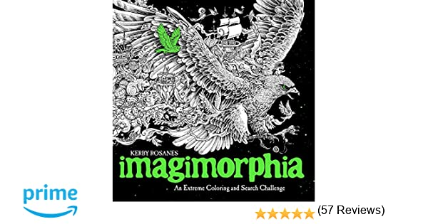 Imagimorphia An Extreme Coloring And Search Challenge Amazonca Kerby Rosanes Books