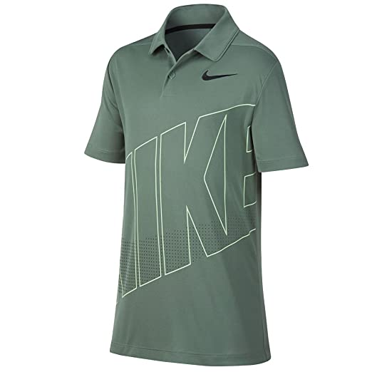 5e956972 Amazon.com: Nike New Boys DRI FIT Essential GRFX 2 Golf Polo: Clothing