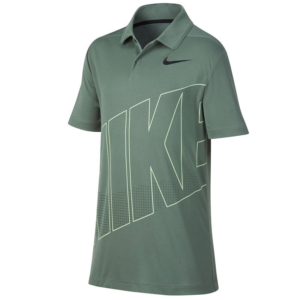 NIKE Boys DRI FIT Essential GRFX 2 Golf Polo